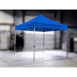 PROFESIONALNI EASY UP aluminijski paviljon - šator 3 X 3 m / MVL SERIJA 37 / svijetloplavi