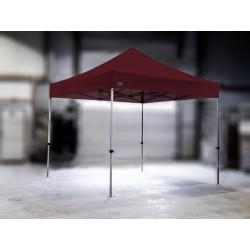 PROFESIONALNI EASY UP aluminijski paviljon - šator 3 X 3 m / MVL SERIJA 37 / bordo