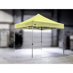 PROFESIONALNI EASY UP aluminijski paviljon - šator 3 X 3 m / MVL SERIJA 37 / šampanj