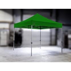 PROFESIONALNI EASY UP aluminijski paviljon - šator 3 X 3 m / MVL SERIJA 37 / zeleni