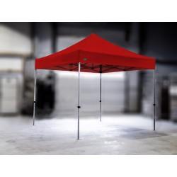 PROFESIONALNI EASY UP aluminijski paviljon - šator 3 X 3 m / MVL SERIJA 37 / crveni