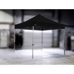 PROFESIONALNI EASY UP aluminijski paviljon - šator 3 X 3 m / MVL SERIJA 37 / crni