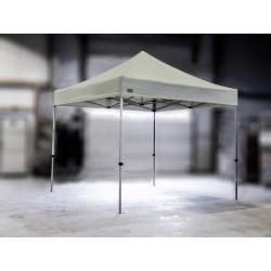 PROFESIONALNI EASY UP aluminijski paviljon - šator 3 X 3 m / MVL SERIJA 37 / silver
