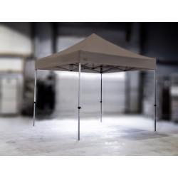 PROFESIONALNI EASY UP aluminijski paviljon - šator 3 X 3 m / MVL SERIJA 37 / sivi