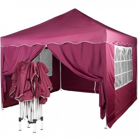 Paviljon - šator sive/antracit boje 3 X 3 m