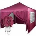 EASY UP Paviljon - šator ljubičaste boje 3 X 3 m