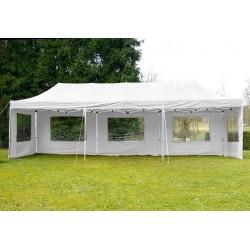 ALUMINIJSKI EASY UP paviljon - šator bijele boje 3 X 9 m