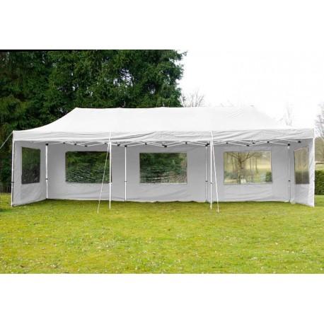 ALUMINIJSKI EASY UP aluminijski paviljon - bijele boje 3 X 9 m
