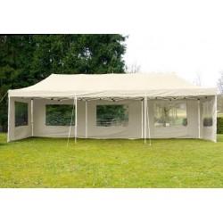 ALUMINIJSKI EASY UP paviljon - šator šampanj boje 3 X 9 m
