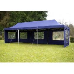 ALUMINIJSKI EASY UP paviljon - šator šampanj plave 3 X 9 m