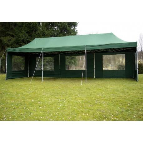 ALUMINIJSKI EASY UP paviljon - šator šampanj zelene 3 X 9 m