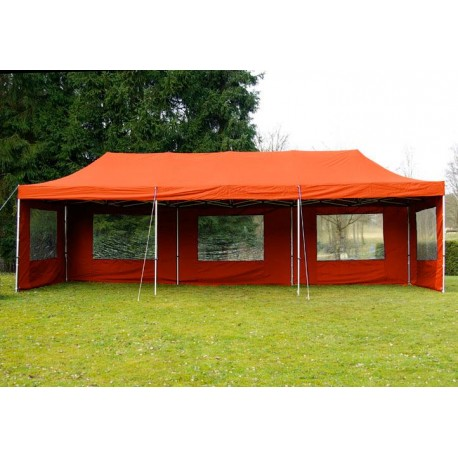 ALUMINIJSKI EASY UP paviljon - šator šampanj narančaste 3 X 9 m