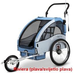 Prikolica za bicikl - KOLICA - 2U1 - sa amortizerima / RIVIERA
