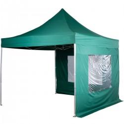 PROFESIONALNI EASY UP aluminijski paviljon - šator zelene boje 3 X 3 m