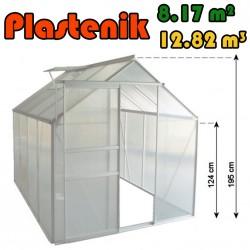 Plastenik 190 X 430 cm - 8.17m2 - 12.82m3