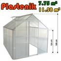 Plastenik 250 X 310 cm - 7.75m2 - 11.58m3