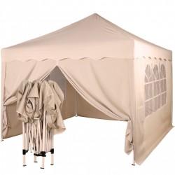 Paviljon - šator bež/šampanj boje 3 X 3 m