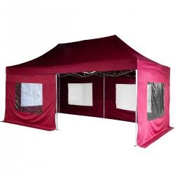 ALUMINIJSKI EASY UP aluminijski paviljon - šator ljubičaste boje 3 X 6 m