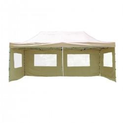 ALUMINIJSKI EASY UP aluminijski paviljon - šator bež boje 3 X 6 m