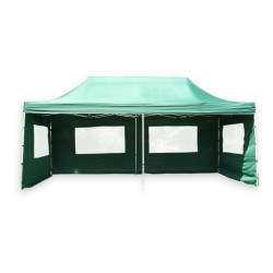ALUMINIJSKI EASY UP aluminijski paviljon - šator zelene boje 3 X 6 m