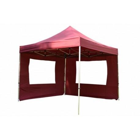 PROFESIONALNI EASY UP aluminijski paviljon - šator ljubičaste boje 3 X 3 m