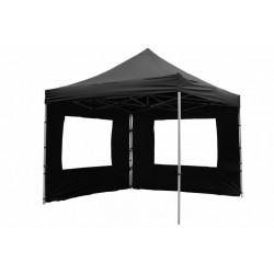 PROFESIONALNI EASY UP aluminijski paviljon - šator crne boje 3 X 3 m